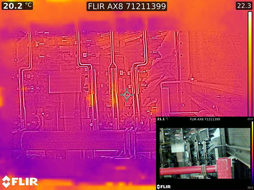 Custom Switchgear with Thermal Imaging Camera