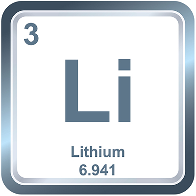 Lithium Ion Chemical Element